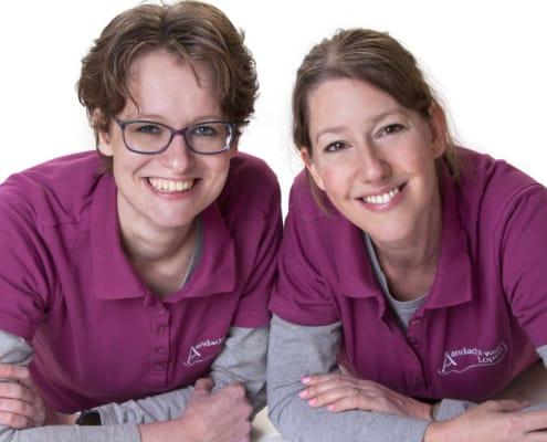 Podotherapeuten Angela en Simone